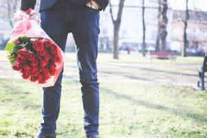 お誕生日にお花を貰うと - お誕生日にお花を貰うと